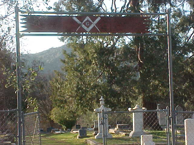 MARIPOSA COUNTY CEMETERY PHOTO